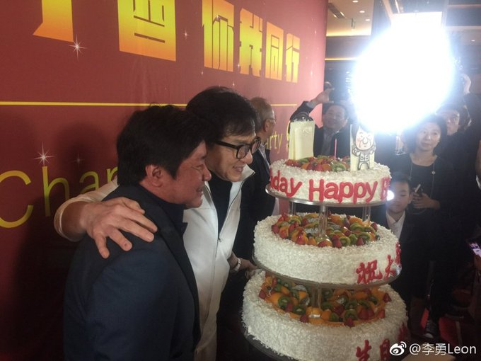 Happy birthday to jackie chan and director stanley tong