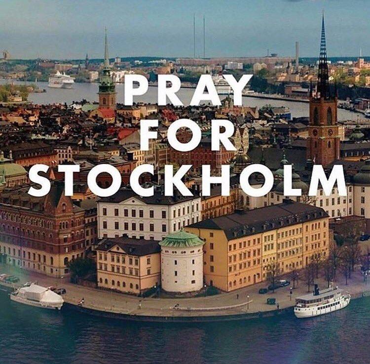 Bildresultat för pray for stockholm