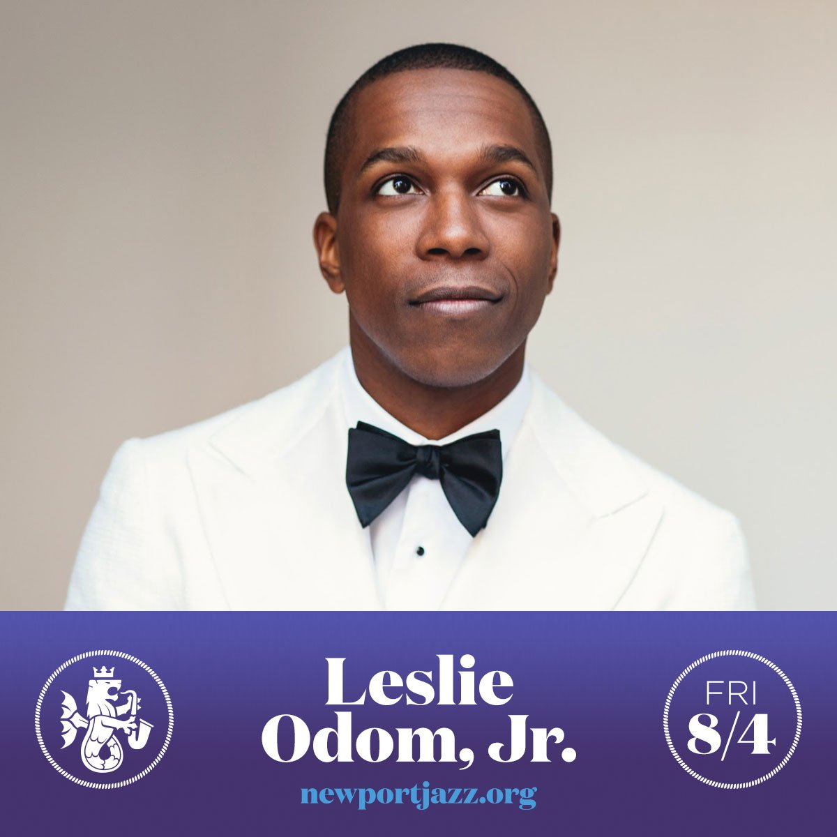 Please welcome @leslieodomjr to our 2017 Friday lineup. #newportjazz #jazzfamily https://t.co/R5DIydzkIp