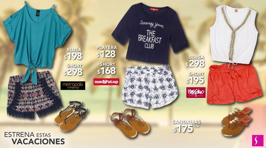estrenaestasvacaciones y expresa tu estilo con un look de shorts ... 349eae53e356