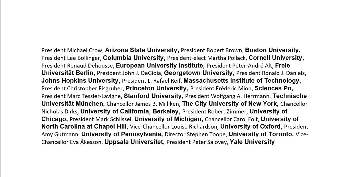 Heads of 23 top graduate universities in North America and Europe express support for CEU #istandwithCEU https://t.co/1XVxrrQl1a https://t.co/g97N34c6hD