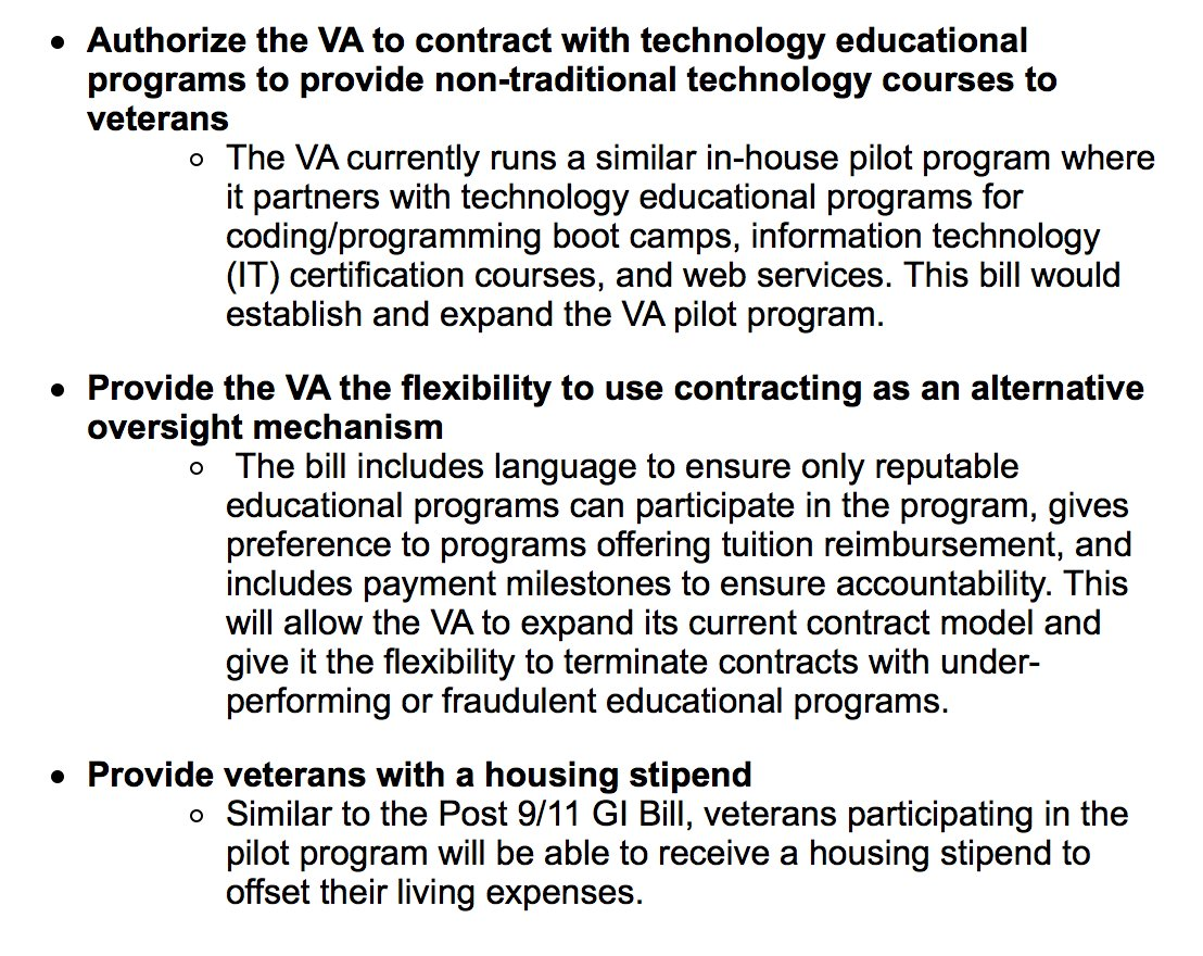 Kevin Mccarthy On Twitter Im Proud To Introduce The Vet Tec Act