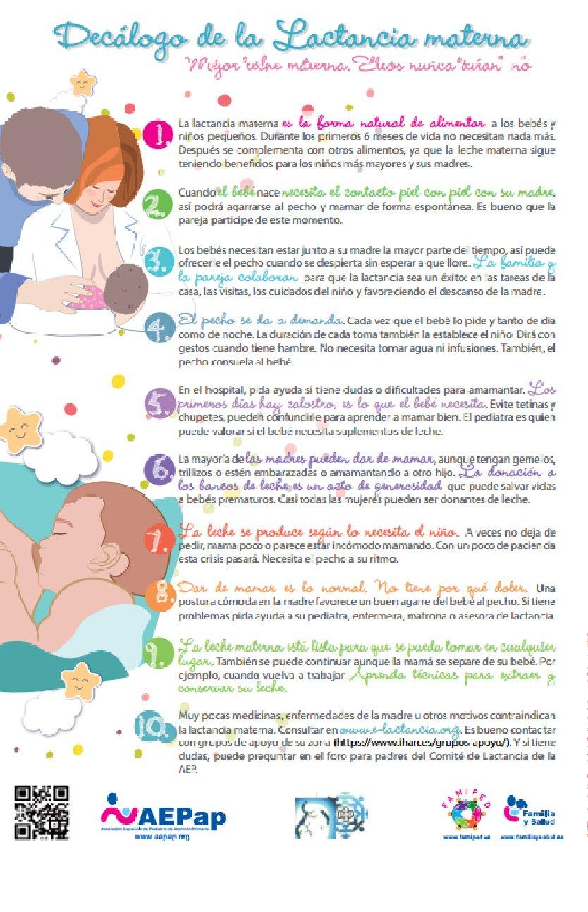 Familia y salud on twitter lactancia materna nuevo dec logo mejor leche materna ellos nunca - Alimentos para producir leche materna ...