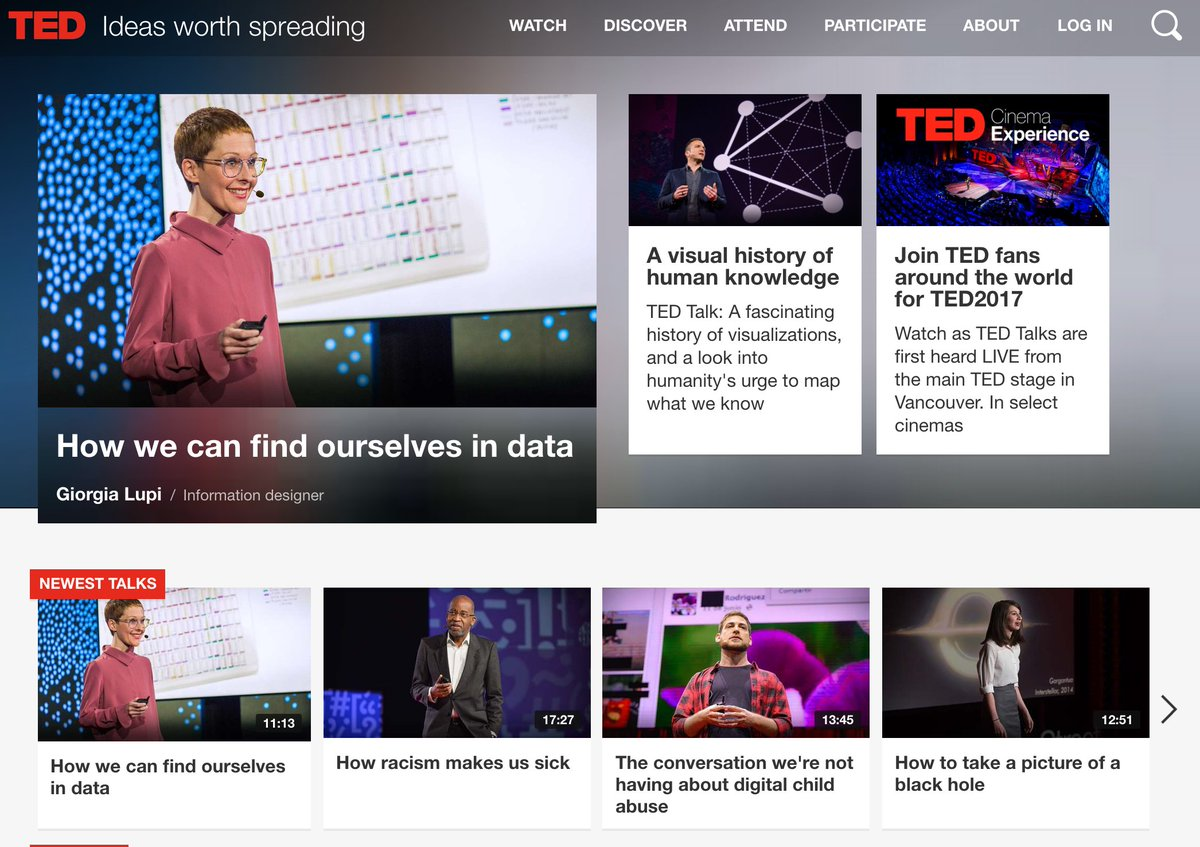 10 Great TED Talks on Data Science and Big Data