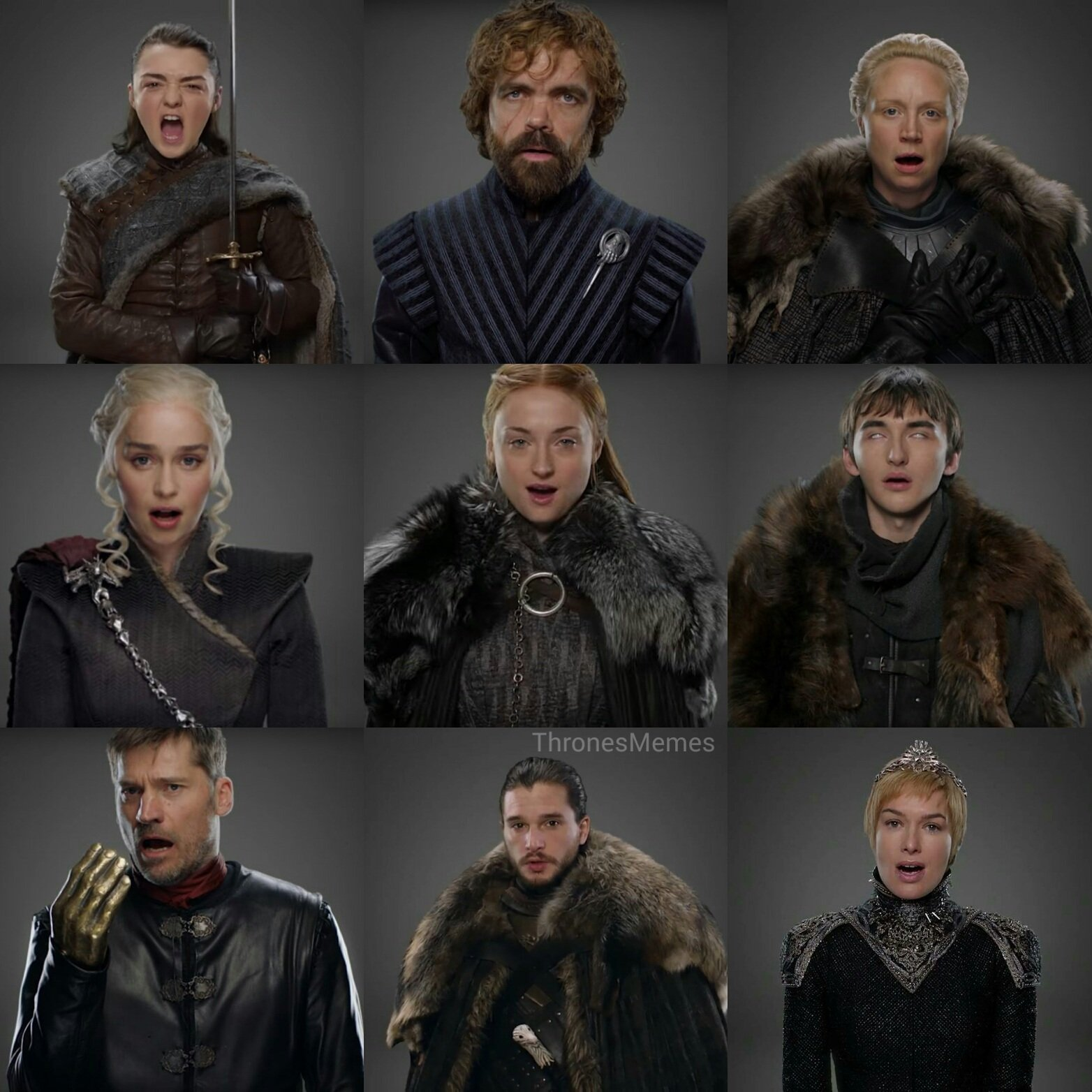 game of thrones memes on twitter gameofthrones cast with their season 7 outfits. Black Bedroom Furniture Sets. Home Design Ideas