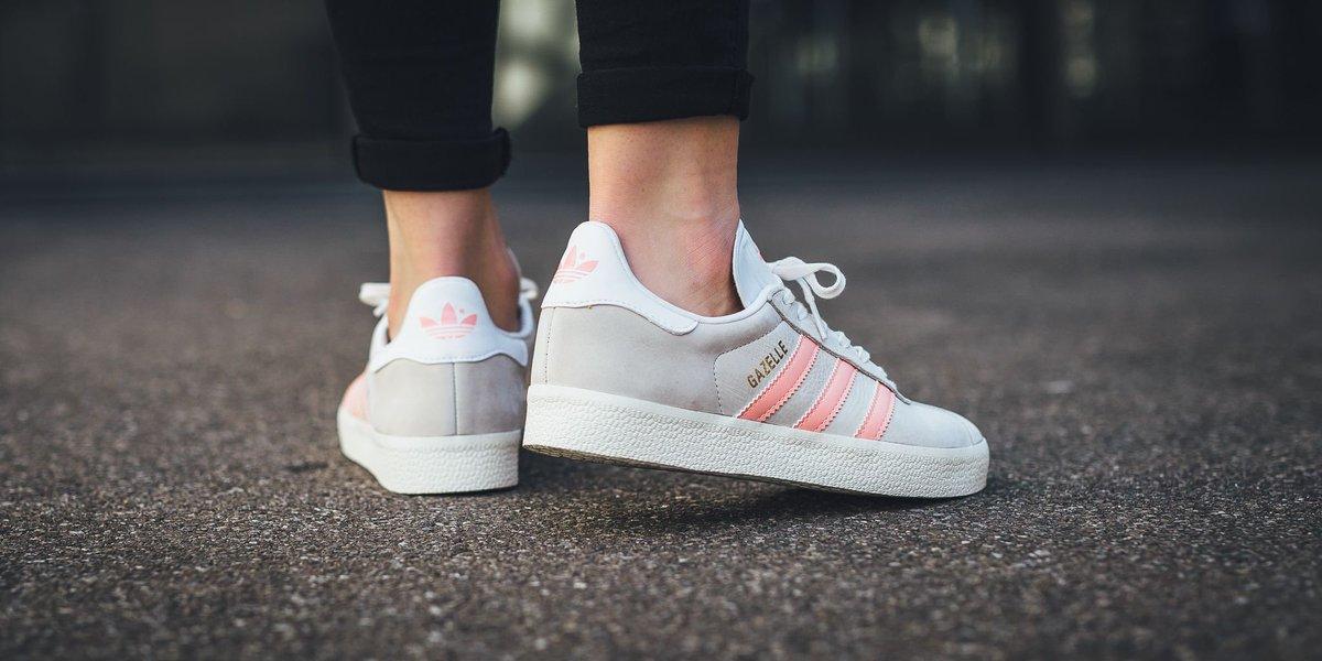 Gazelle chalk white/still breeze/footwear white adidas yN721Z2l