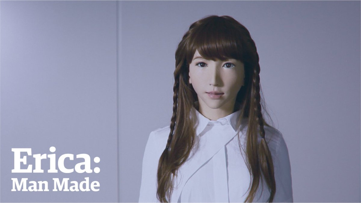 Meet Erica, the world's most human-like autonomous android