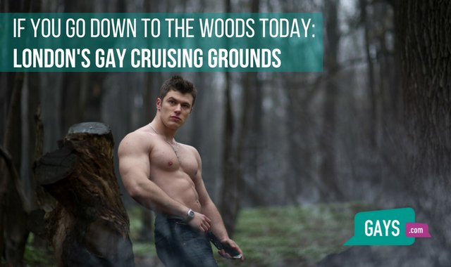 Any dialogue gay cruising sites london would like