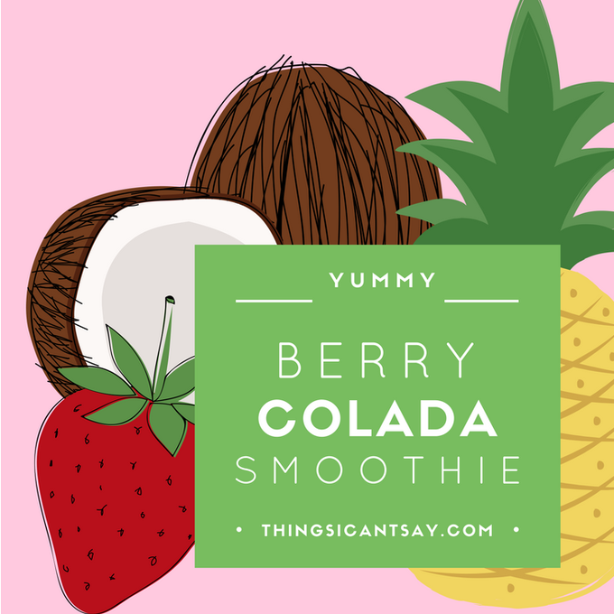 Berry Colada Smoothie Recipe