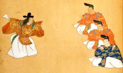 Takasago, Kamo y Kantan son los nombres de tres canciones «noh», una forma clásica del teatro musical japonés: https://t.co/R4B1COAUH8 https://t.co/VvwEUNgEhO