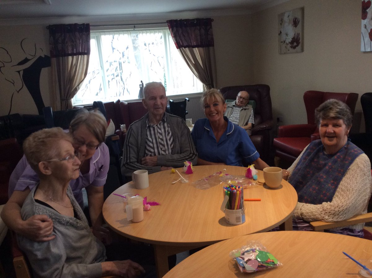 Barnsley Tesco Extra On Twitter Easter Crafts With The Residents