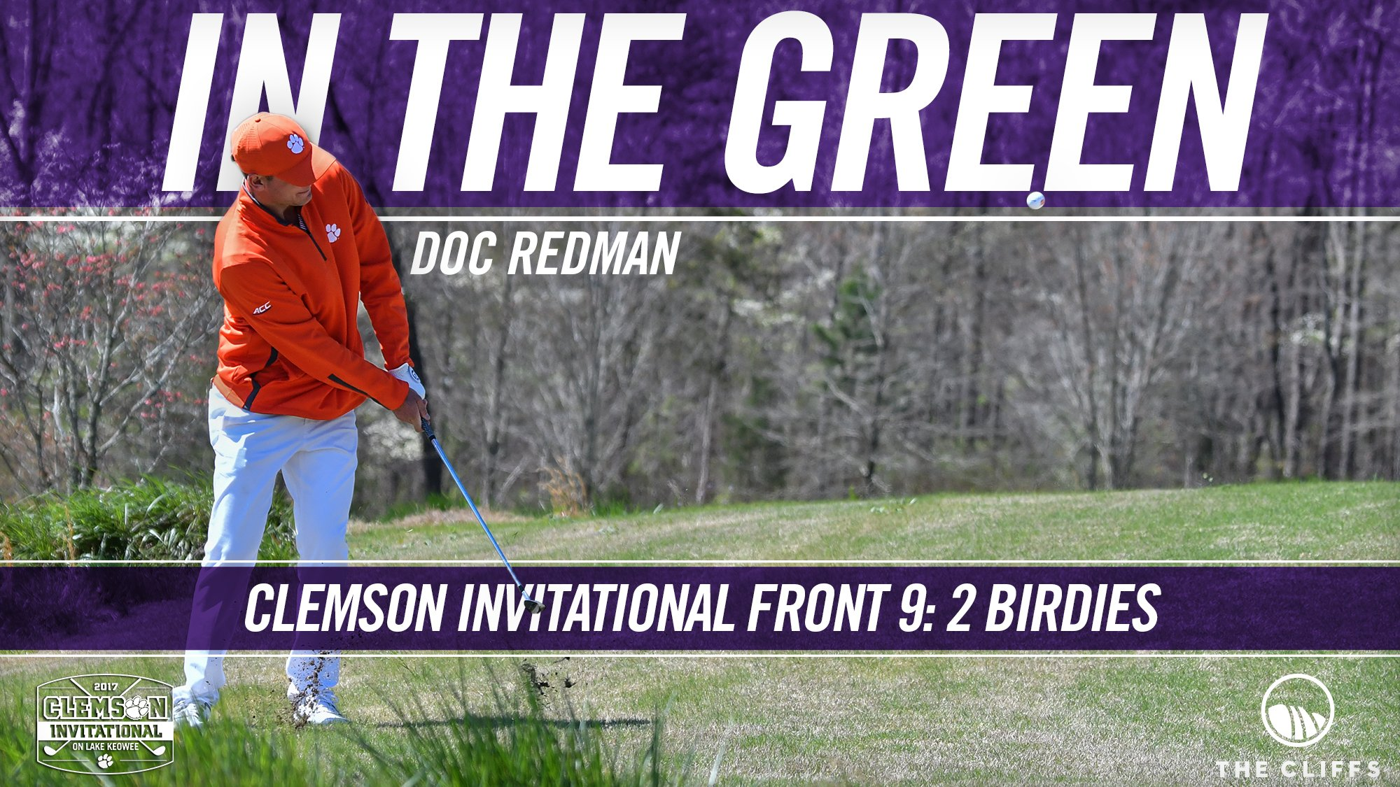 Great front 9 for Doc Redman at the #ClemsonInvitational! ⛳️ https://t.co/dzidhCdzGB