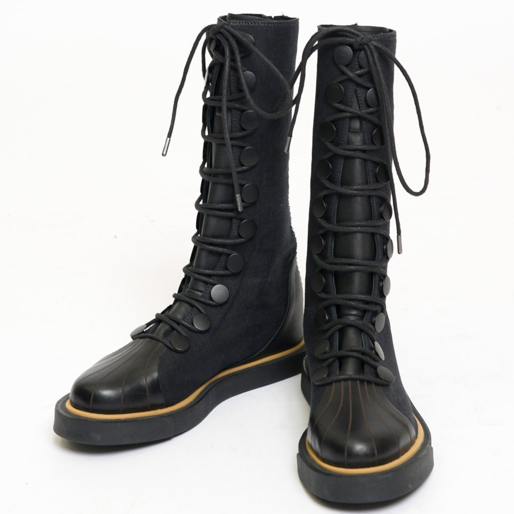 best service ee077 1ed7a these yohji yamamoto x adidas back zip 80 s punk boots with yohji logo are  supposed