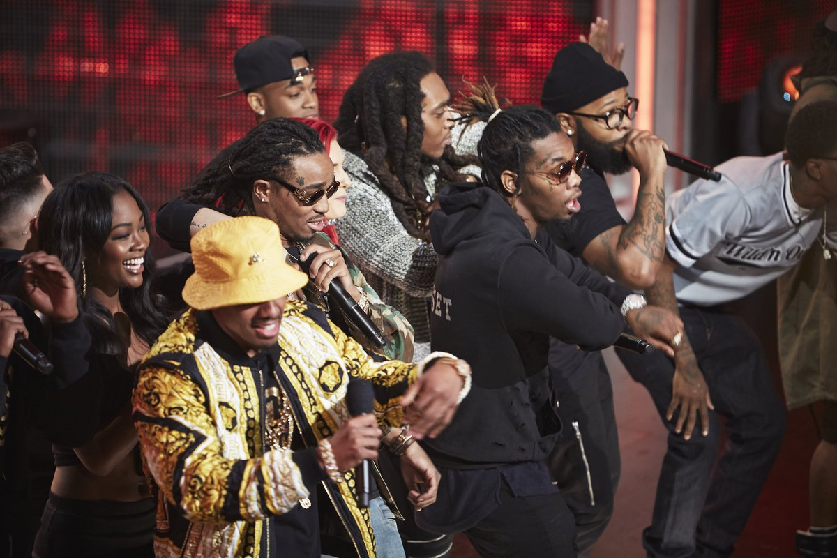 migos perform on wild n out
