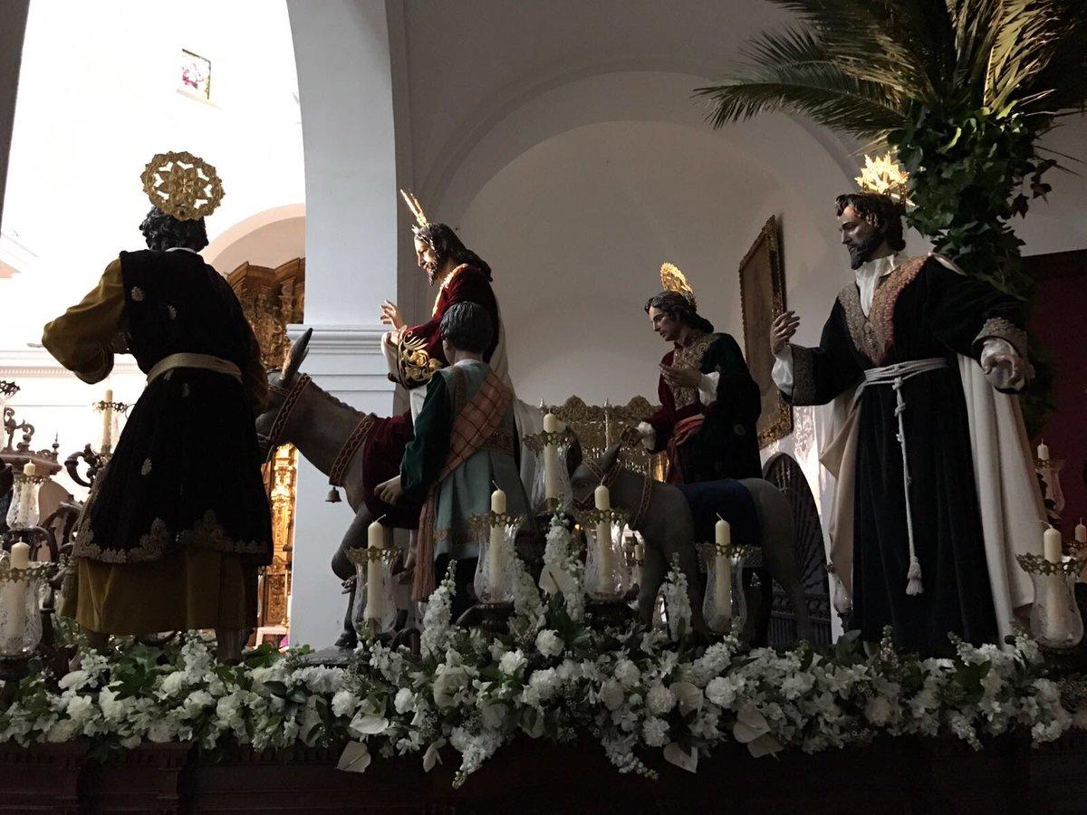 Todo preparado para el Domingo de Ramos 2017
