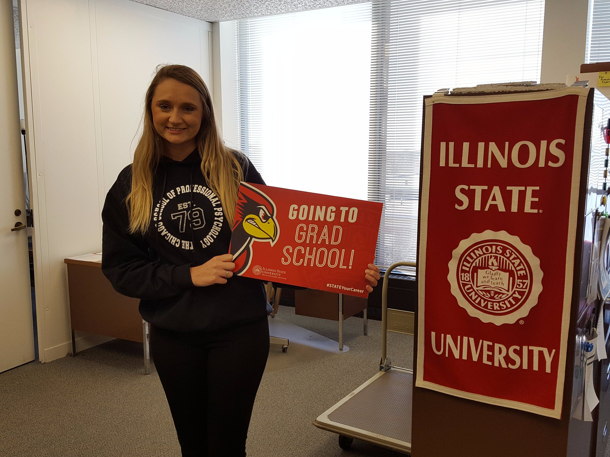Congrats to @KatRuehle, who will be pursuing her EdS in School Psychology at The Chicago School of Professional Psychology! #STATEYourCareer https://t.co/sfTd5tMwNY