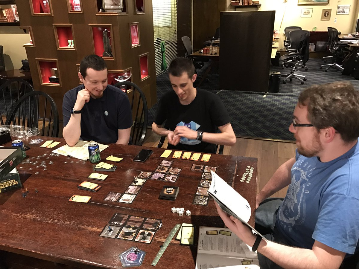 Game for coworkers - Marc Watson On Twitter Mikeselinker Finally Convinced Some Coworkers To Play Betrayal This Was Game 2 My First Haunt Https T Co Lfmngr9feb