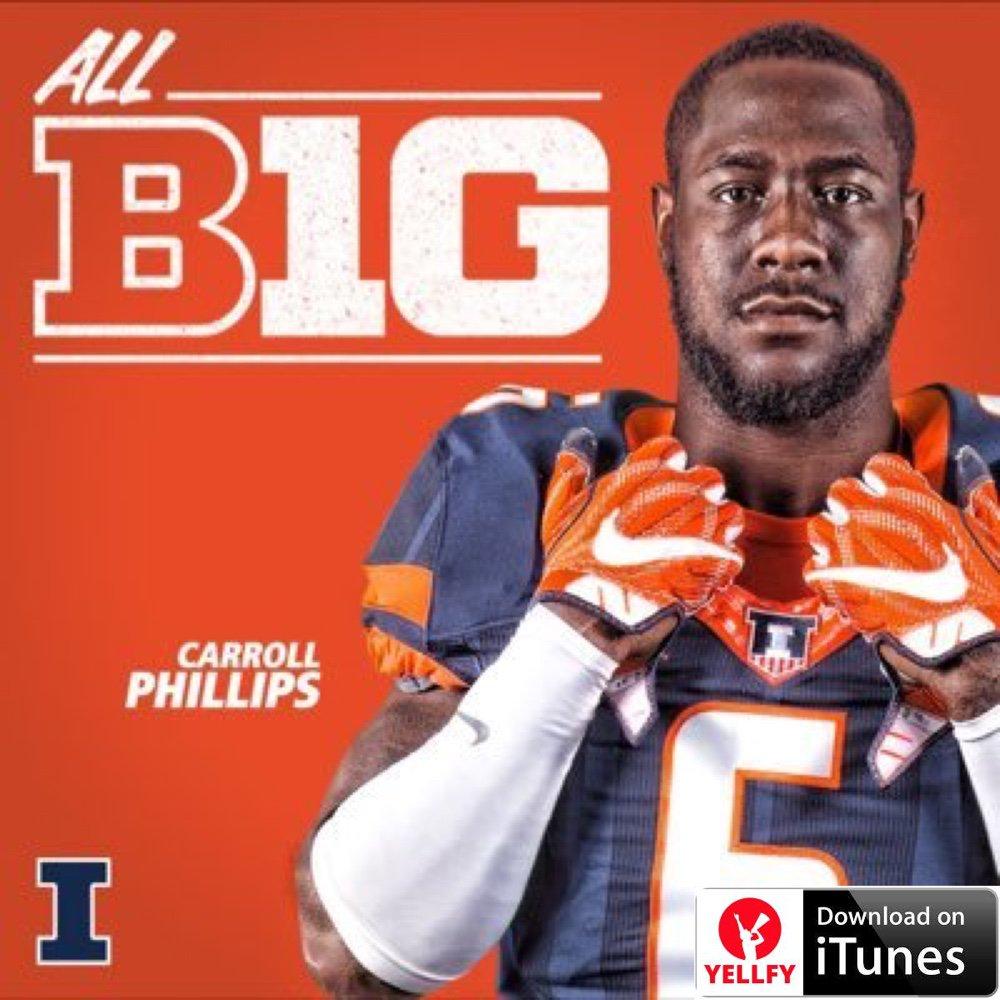 .@_Wildman6 #NFLDraft: #Illinois Carroll Phillips causes disruption in the run game wi... goo.gl/Fg6Wc3