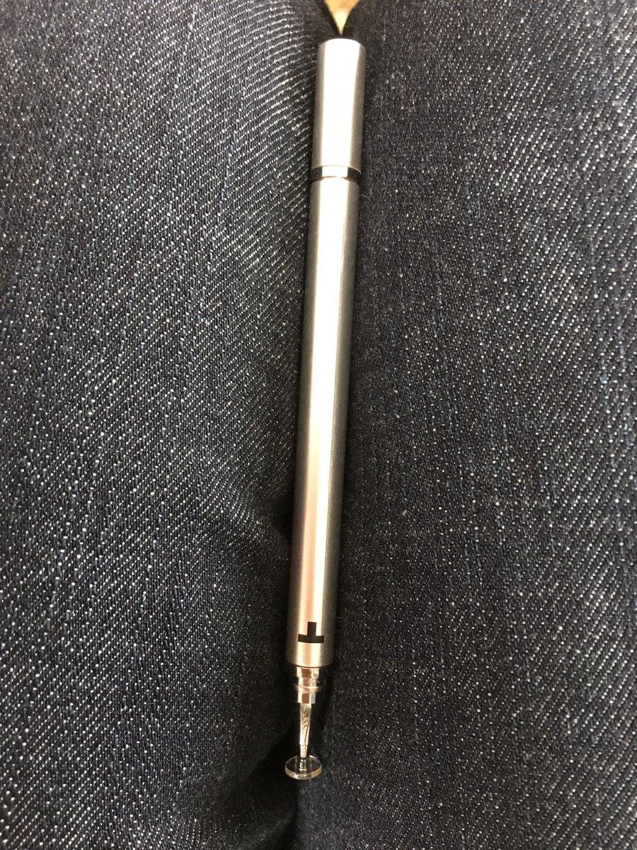 test ツイッターメディア - #キャンドゥ  巷で噂のタッチペン、 もといスタイライト?ペン??  2000円くらいの買うつもりだったけど、100均一にあると聞いて買ってきた! なかなか楽しい! 下書きとかさらっと書けそう(≧∇≦) https://t.co/59nmAJFFHN