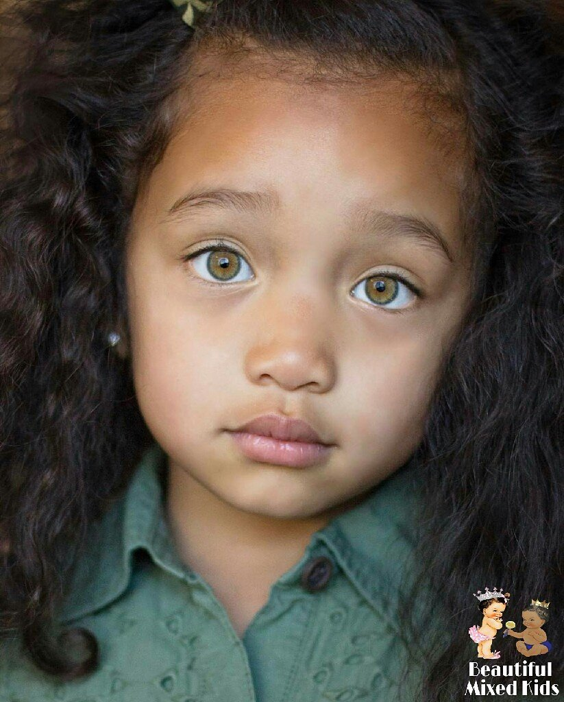 "BEAUTIFUL MIXED KIDS on Twitter: ""Karter - 4 Years ..."