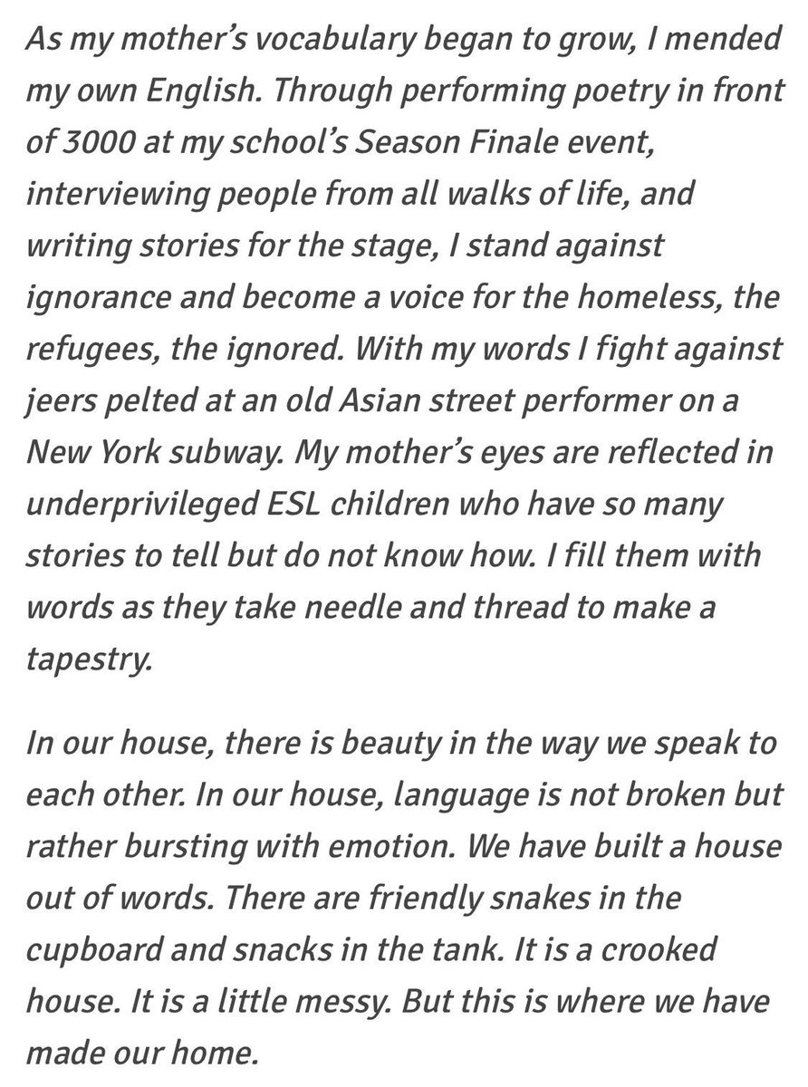 james on cassandra hsiao s essay that got her into  8 02 pm 7 apr 2017