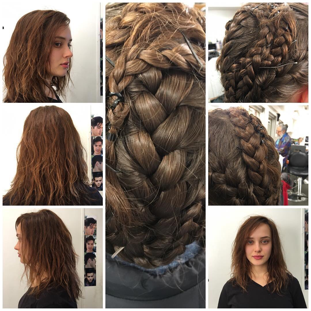 Katherine Langford Updates On Twitter Katherine Langford S Hair Stylist Talking About Her Wig For 13 Reasons Why Via Instagram
