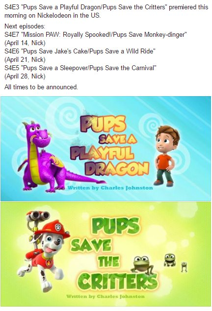 PAW Patrol Wiki on Twitter: