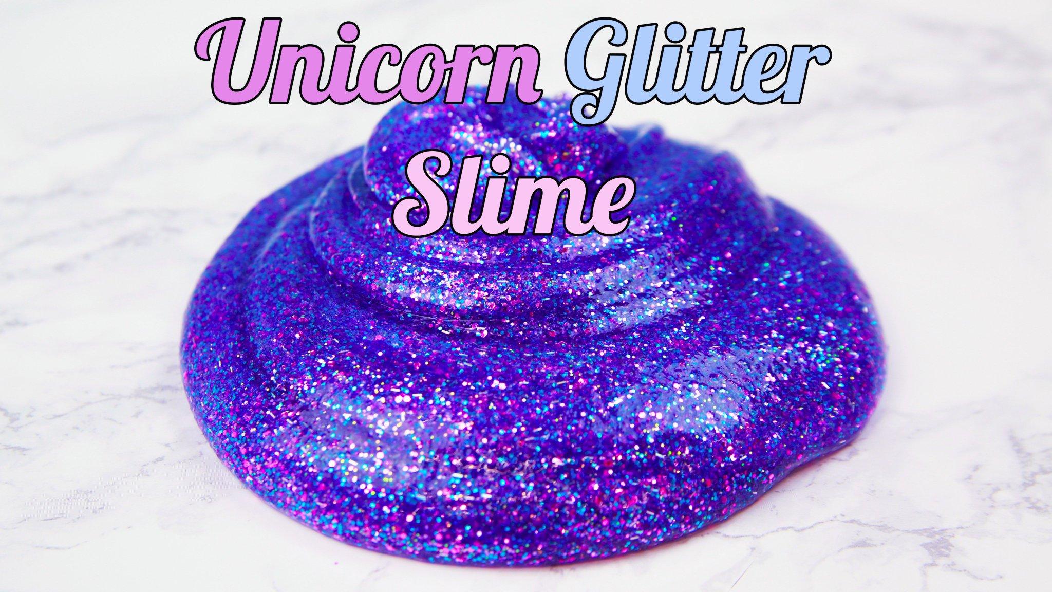 Hellogiggles On Twitter Video This Unicorn Glitter Slime Will