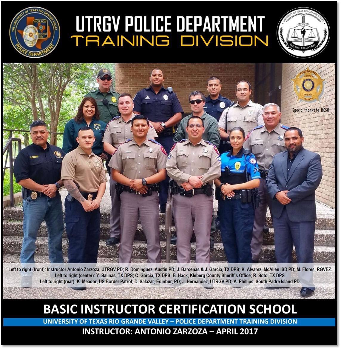 Utrgv pd on twitter congratulations to these 12 new congratulations to these 12 new instructors that today successfully completed the tcole basic instructor certification course utrgv pdpicitter 1betcityfo Images