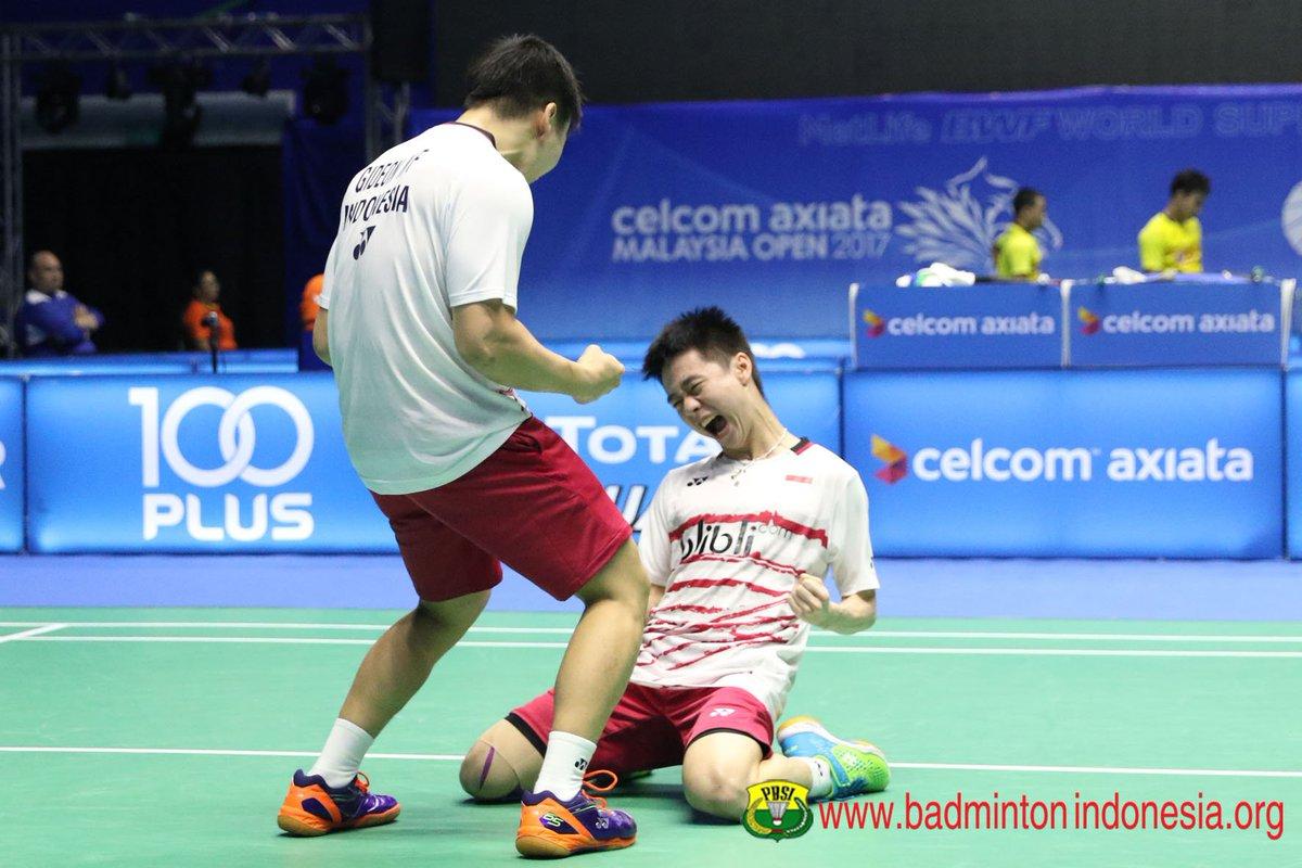 "BADMINTON INDONESIA on Twitter ""Sementara Marcus Kevin akan"
