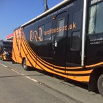 2 TORQ event vehicles on their way to Builth @MTB_Marathon today in the sunshine. See you there...