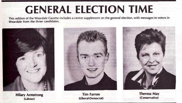 25 years ago today, me and the PM heading for defeat...but both sporting Rick Astley's hairdo https://t.co/EsU1xkNFQ0