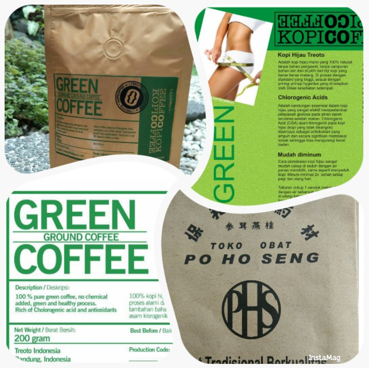 Green coffee bean allergy rash