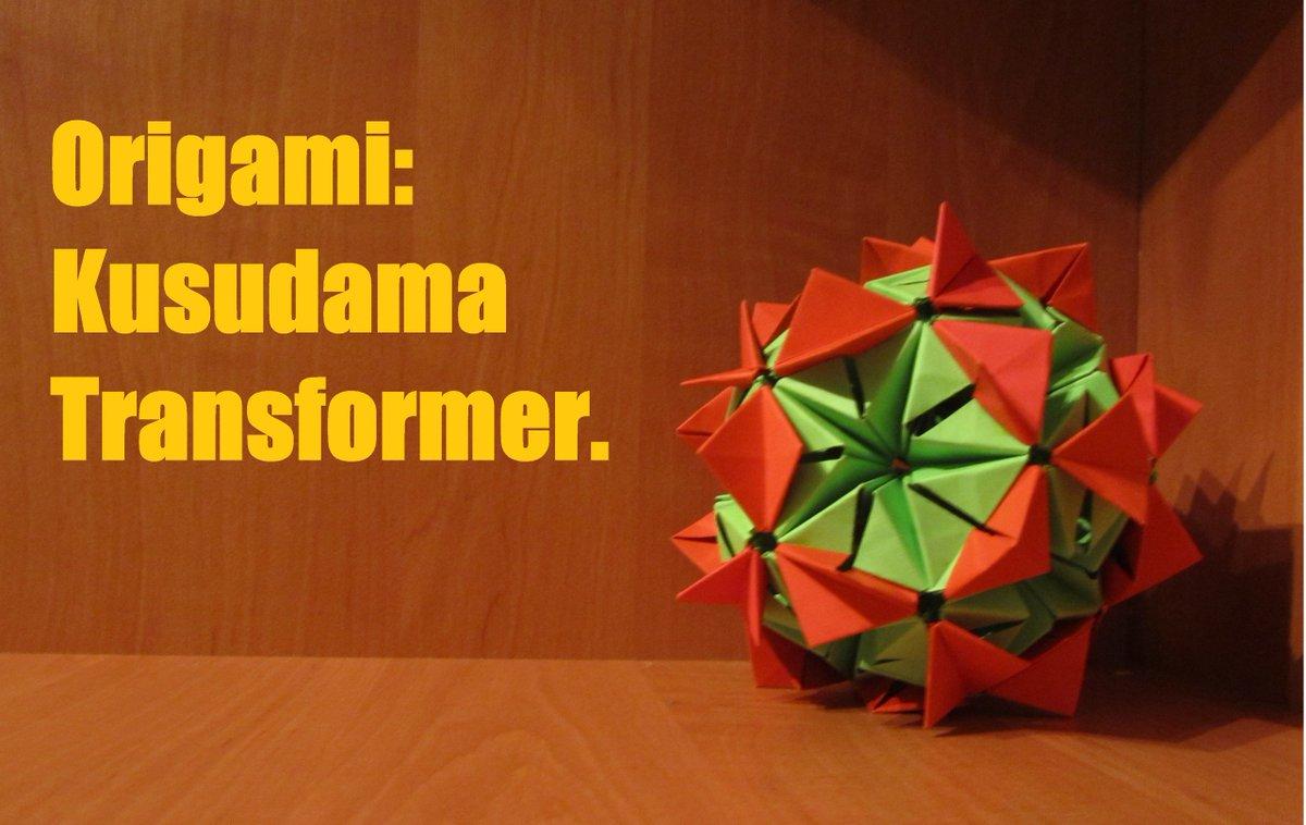 Модульное оригами схемы сборки фламинго