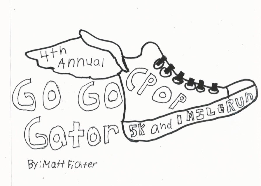 """Today's our @CPOPGators """"Go Go Gator"""" 5K.  I'll be multi-tasking #CatholicEdChat My excitement for #NCEA17 is growing!! https://t.co/499ovw8RtH"""