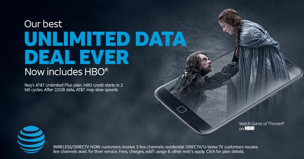 Get unlimited entertainment with AT&T wireless and HBO®. https://t.co/yI6HWFh6pq https://t.co/UzGavxDvgX