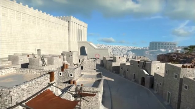 Virtual reality app recreates Jerusalem during Second Temple