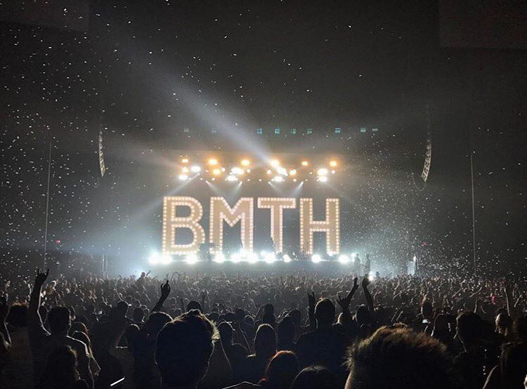Last. Night. Was. EPIC! @bmthofficial #TheAmericaNightmareTour //