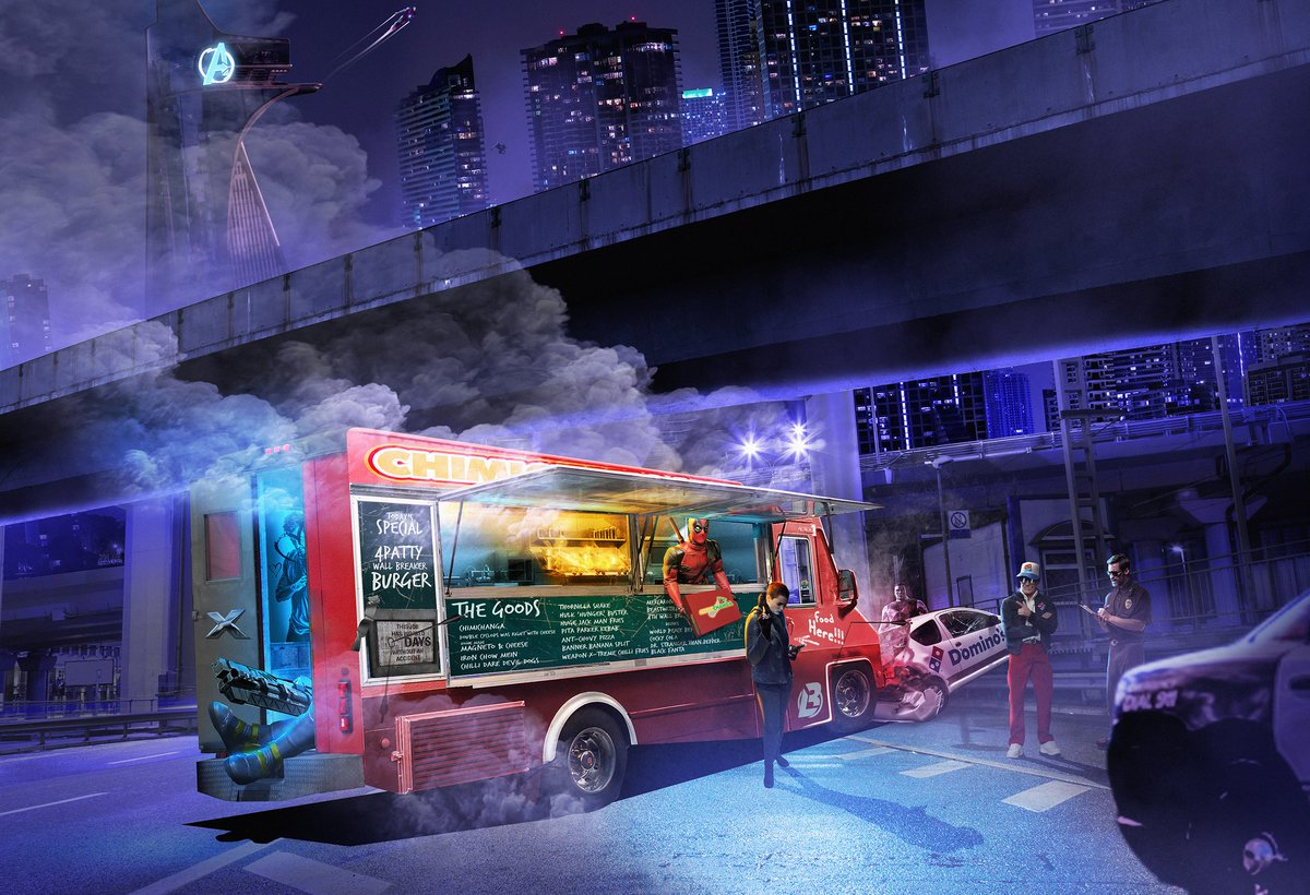 Bosslogic On Twitter 14hours Of Work Later Here Is My V2 Of My Deadpool Food Truck Adventures Poster Deadpoolmovie