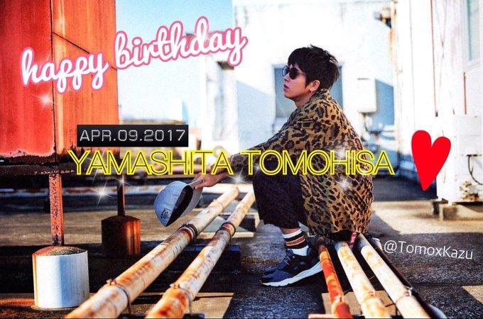 HAPPY BIRTHDAY YAMASHITA TOMOHISA
