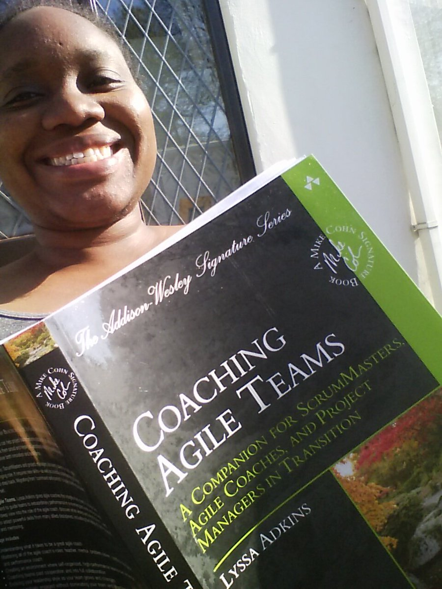 Reading Coaching Agile Teams by Lyssa Adkins