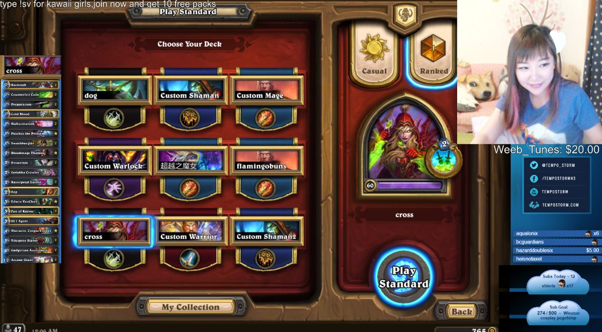 Rogue hunting log rank 1 - We Did It Rank 1 With Miracle Rogue Climbed To Legend With This And All The Way From 1000 To 1 80 Winrate Thanks Cross7224pic Twitter Com