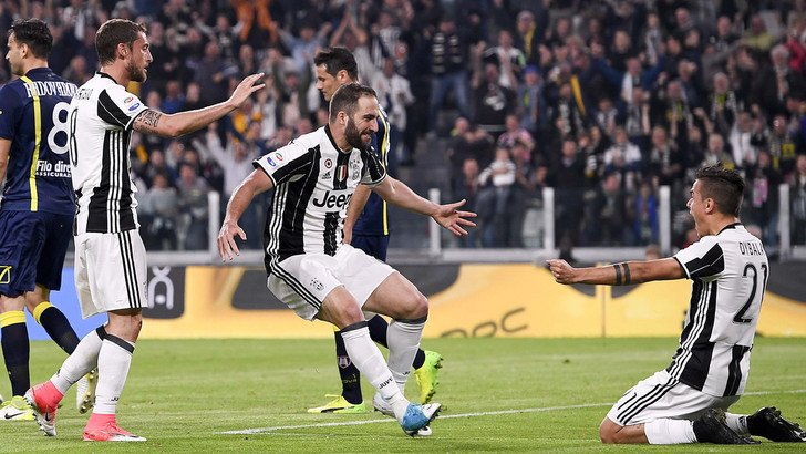 Video Juventus Chievo 2-0 doppietta Higuain