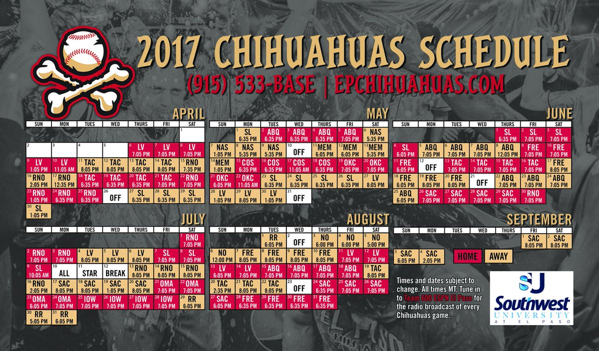 "el paso chihuahuas on twitter: ""plenty of tickets available for"