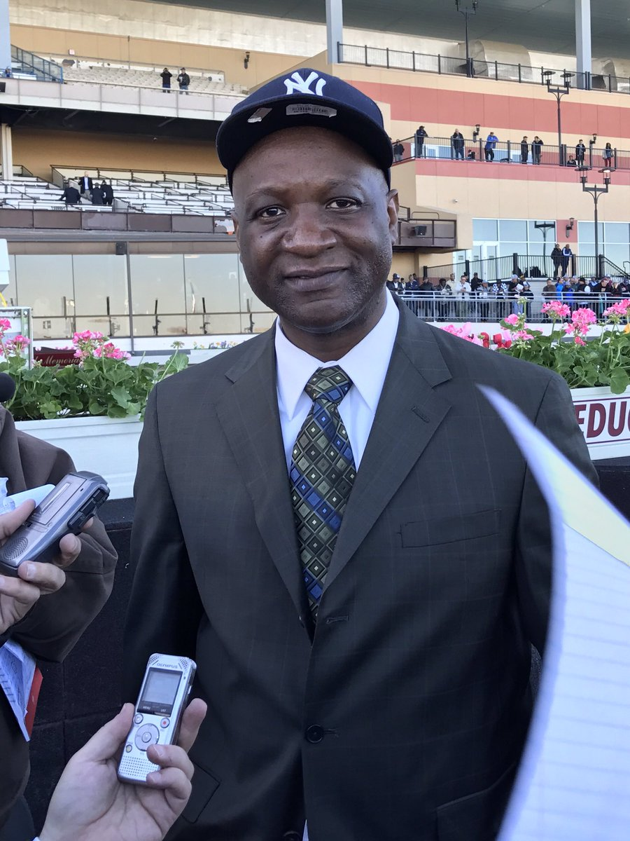 Gaston Grant a @UPS driver when not working with his horses. Carter first G1 win to go with G3's in '17 Toboggan and '15 Fall Highweight. https://t.co/XbqUScKQ58