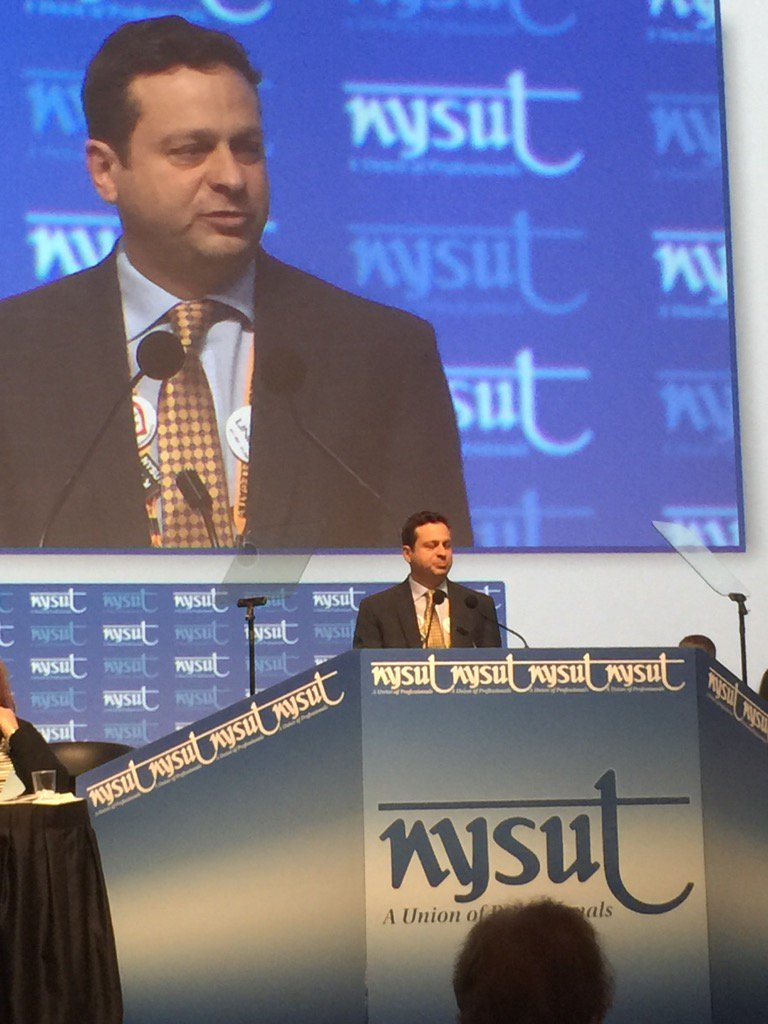 .@PaulPecorale addresses the #nysutra2017 https://t.co/cSKTCo8SHl