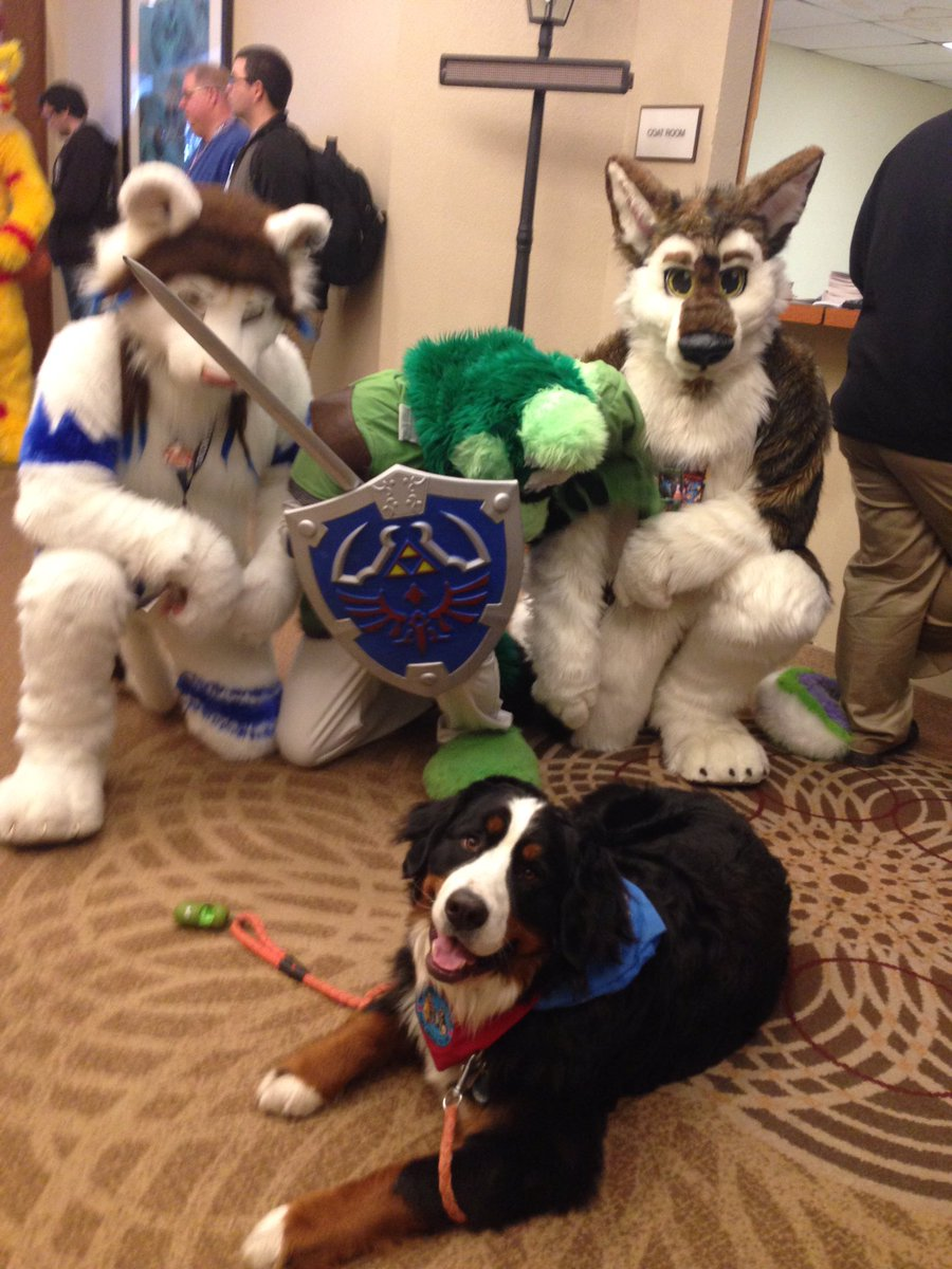 Woman Brings Dog To Furry Convention, Thinking It's A Gathering For Pets