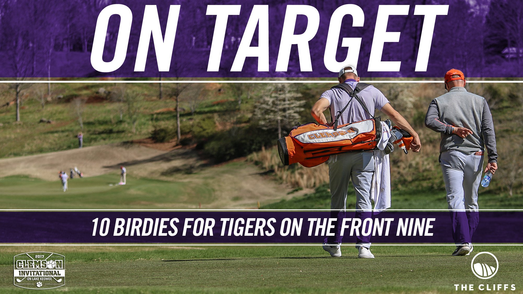 Tigers on 🎯 for a great #ClemsonInvitational Day 2 - Birdies: Carson Young (3), Doc Redman (3), Bryson Nimmer (3), Austin Langdale (1) https://t.co/IetPLCUiVP