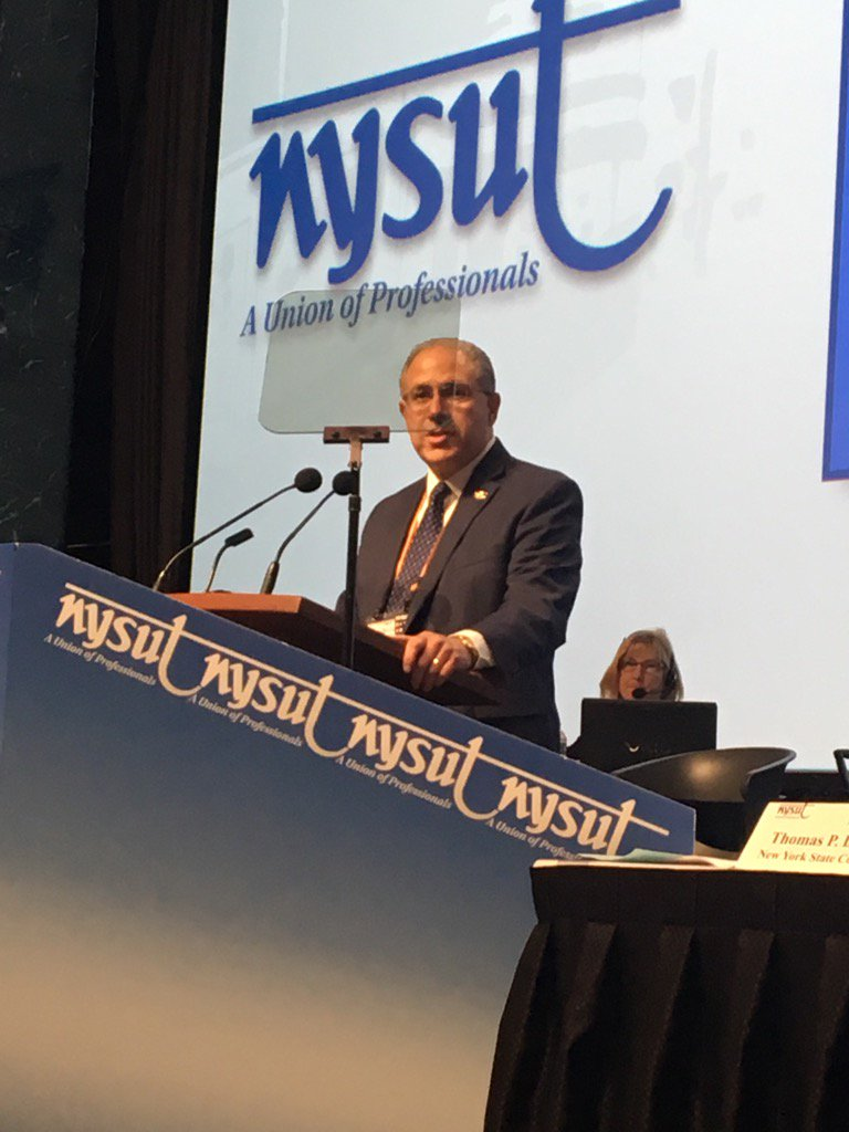 #UnionPride in @AndyPallotta , new President of @nysut ! https://t.co/4qux3zNfGj