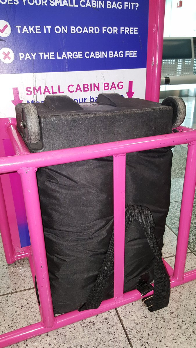 Wizz Air On Twitter The Dimensions Of The Small Cabin Bag Should Not Exceed Those Listed On The Website Https T Co Ls0wwuumpj